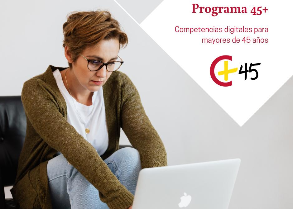 Competencias Digitales NIVEL MEDIO-ALTO. Programa PICE 45+
